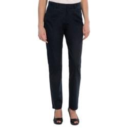 Lafayette 148 New York Casual Cotton Jeans - Curvy Slim Leg (For Women)