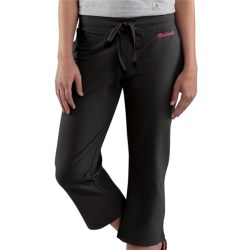 Carhartt Cropped Track Pants -Stretch Cotton (For Women)