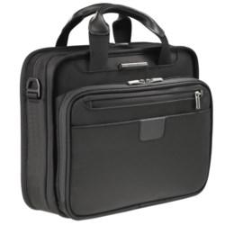 Briggs & Riley Netbook Slim Clamshell Briefcase
