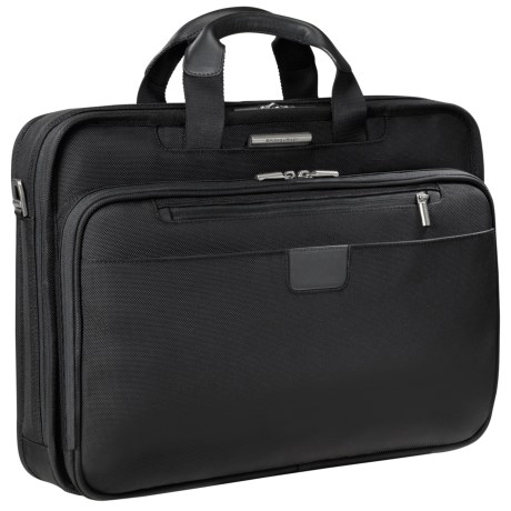 Briggs & Riley Slim Briefcase - Large