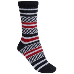 b.ella Marina Basket-Weave Socks - Wool-Cashmere Blend, Crew (For Women)