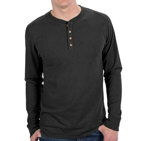 Gramicci Tavern Henley Shirt - UPF 20, Hemp-Organic Cotton, Long Sleeve (For Men)