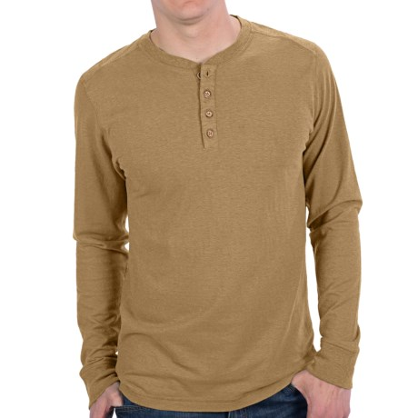 Gramicci Tavern Henley Shirt - UPF 20, Hemp-Organic Cotton, Long Sleeve (For Men)