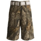 Team Realtree Cargo Shorts (For Youth Boys)