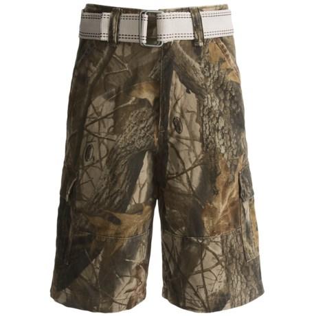 Team Realtree Cargo Shorts (For Youth Boys)