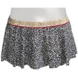 Kenneth Cole Reaction Wild Cats Flounce Skirt Bikini Bottoms (For Women)