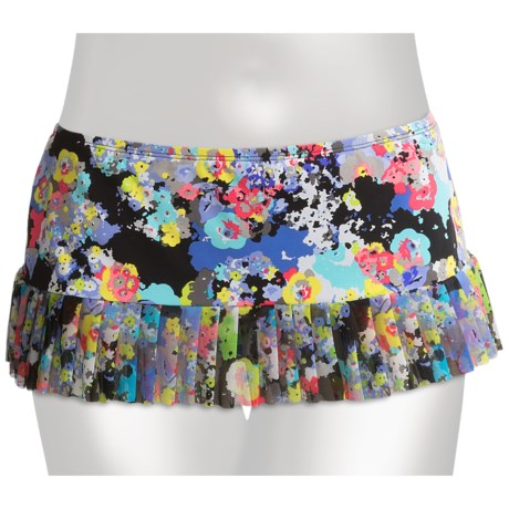 Kenneth Cole Reaction Spring It On Skirted Bikini Bottoms (For Women)