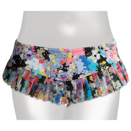 Kenneth Cole Reaction Spring It On Skirted Hipster Bikini Bottoms (For Women)