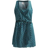 Kenneth Cole Pave the Way Wrap Cover-Up Dress - Sleeveless (For Women)