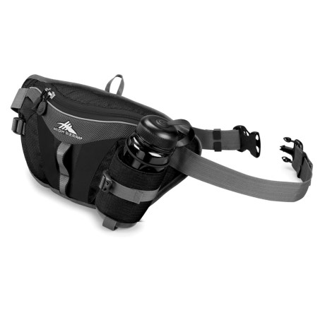 High Sierra Solo Lumbar Pack with Bottle