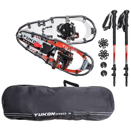 "Yukon Charlie's Pro II Snowshoe Kit - 25"""