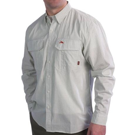 Simms Transit Shirt - Cotton, Long Sleeve (For Men)