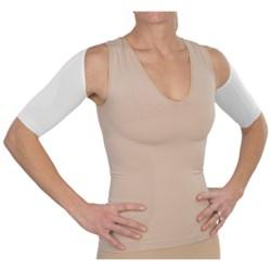 CASS Shapewear Lucky Back Shirt - 3/4 Sleeve (For Women)