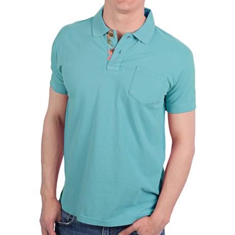 Vintage 1946 Cotton Pique Polo Shirt - Short Sleeve (For Men)