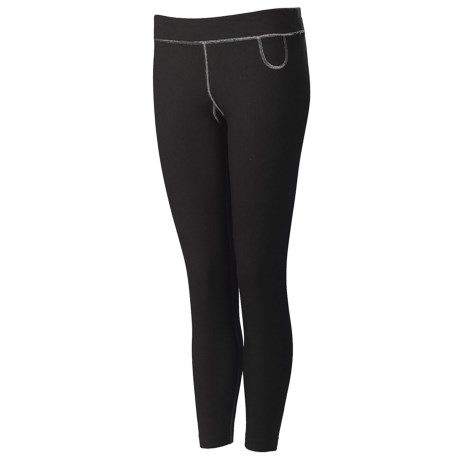 Neve Solid Base Layer Bottoms - Merino Wool-Silk (For Women)