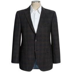 Jack Victor Wool Plaid Sport Coat - Classic Fit (For Men)