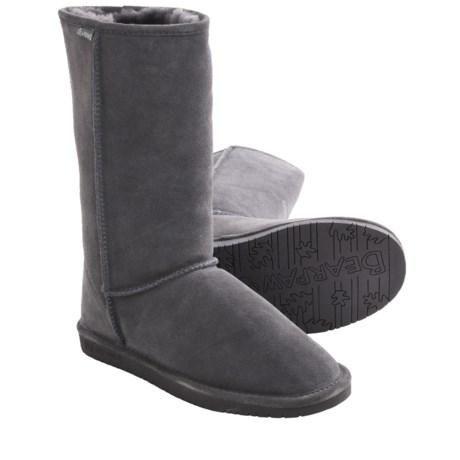 Bearpaw Emma Tall Boots - Suede, Sheepskin-Lined (For Women)