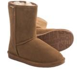 Bearpaw Emma Short Boots - Sheepskin Lined, Suede (For Women)