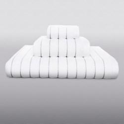Kassatex Fine Ring-Spun Cotton Washcloth - 600gsm, Luxury Stitch