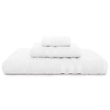 KassaSpa Zero Twist Cotton Bath Towel - Rice Weave