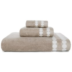 Kassadecor Dot Border Bath Towel - 600gsm Cotton