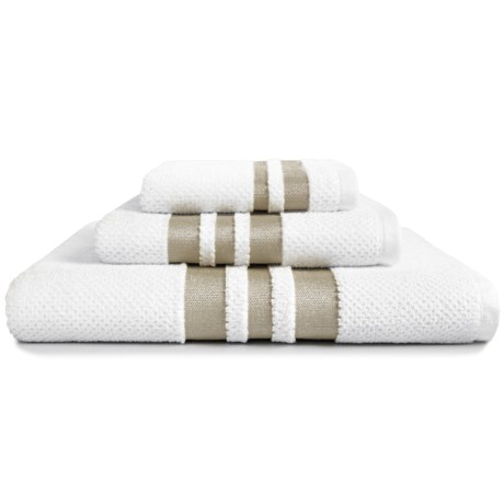 Kassadecor Chelsea Bath Towel - Cotton Terry Jacquard