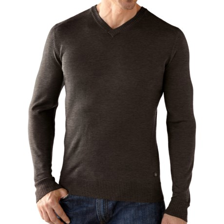 SmartWool Lightweight Front Range Shirt - V-Neck, Long Sleeve (For Men)