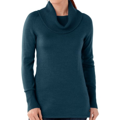 SmartWool Minturn Sweater - Merino Wool, Drape Neck (For Women)
