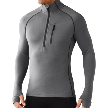 SmartWool 2013 MerinoMax Base Layer Top - Zip Neck, Long Sleeve (For Men)