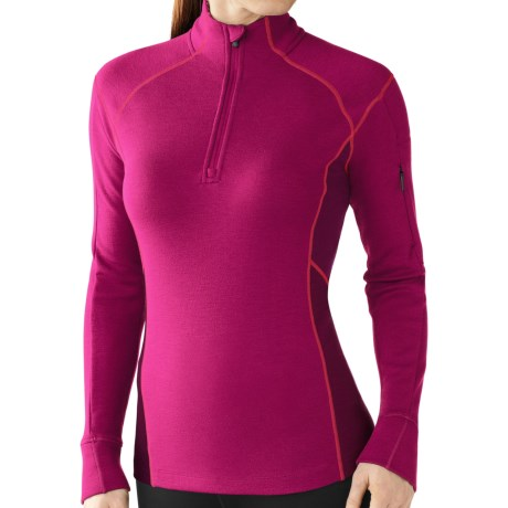 SmartWool MerinoMax Shirt - Merino Wool, Zip Neck, Long Sleeve (For Women)