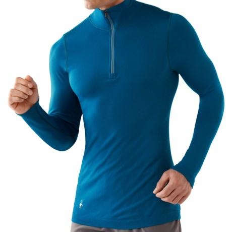 SmartWool PhD Run Zip Shirt - Long Sleeve (For Men)