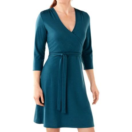 SmartWool Maybell Dress - Merino Wool, 3/4 Sleeve (For Women)
