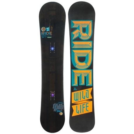 Ride Snowboards Wild Life Snowboard (For Men)