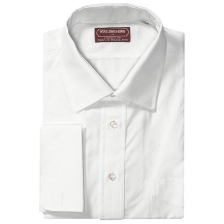 Winslowe & Krik by Gitman Brothers French Cuff Dress Shirt - Spread Collar, Long Sleeve (For Big & Tall Men)
