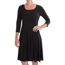 Chetta B Ity Magic Waist Dress - 3/4 Sleeve (For Women)