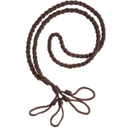 Allen Co. Leather Quad Call Lanyard - Braided