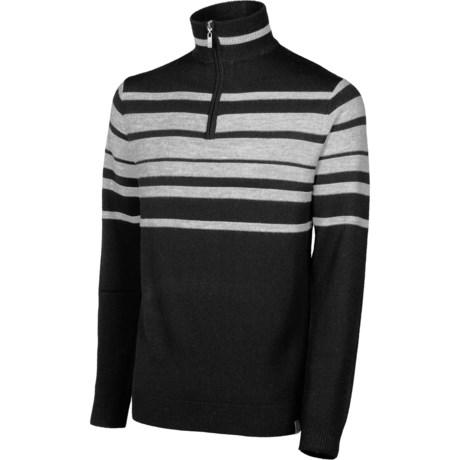 Neve Brodie Sweater - Merino Wool, Zip Neck (For Men)