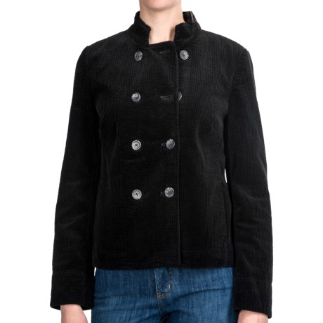Modern Corduroy Jacket - Double Breasted (For Women)
