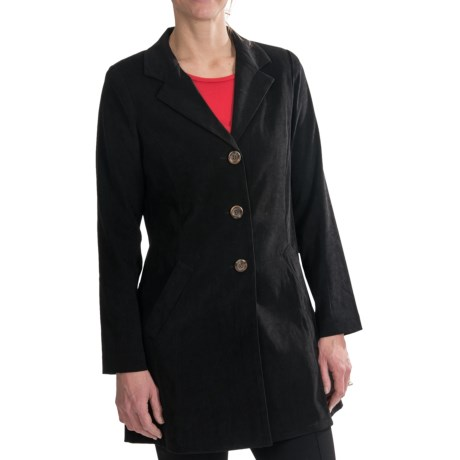 Lightweight Stretch Microfiber Jacket (For Women)