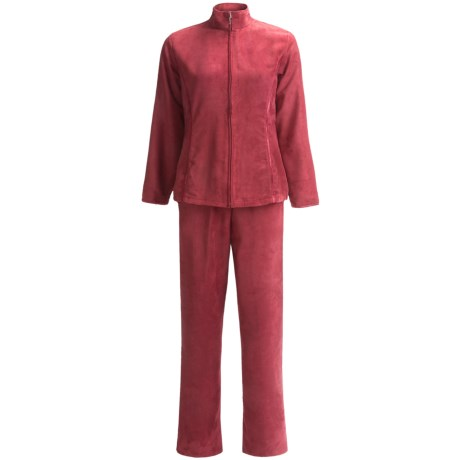 Specially made Microsuede Jacket and Pants Set (For Women)