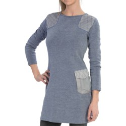 Specially made Knit Sweater Dress - Long Sleeve (For Women)