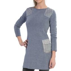 Knit Sweater Dress - Long Sleeve (For Women)