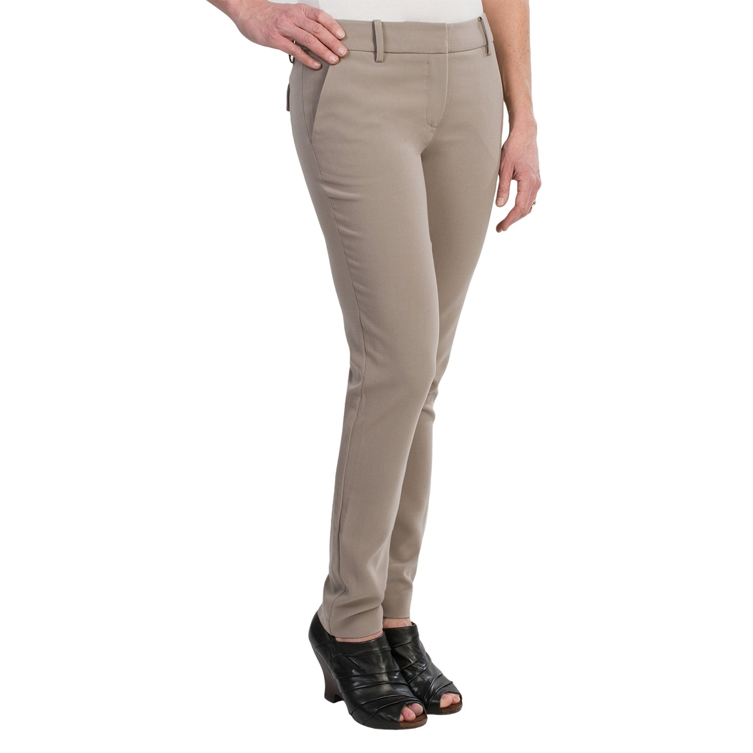 Luxury  KLEIN 9760 Womens Georgette Flat Front Dress Pants Trousers Plus BHFO