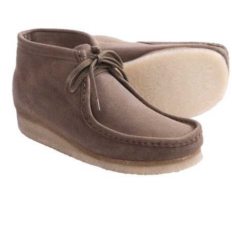 Clarks Wallabee Ankle Boots - Leather (For Men)