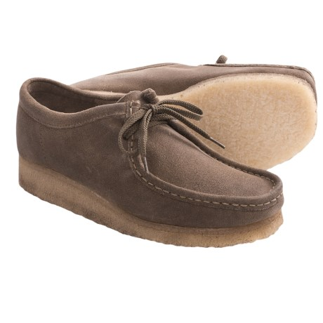 Clarks Wallabee Shoes - Leather (For Men)