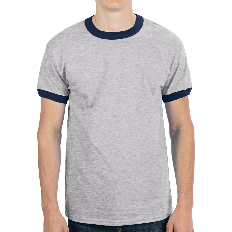 Gildan Short Sleeve T-shirt Colors Gildan Ringer T-shirt Short