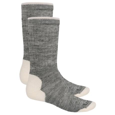Lorpen Merino Wool Work Socks - 2-Pack, Crew (For Men and Women)
