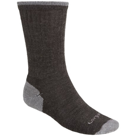 Lorpen Merino Wool Work Socks - 2-Pack, Crew (For Men and Women)