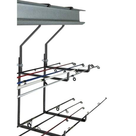 Do-All Outdoors Add-a-Hook Morpheus Model Garage Utility Hooks - Double L Hook, Set of 2