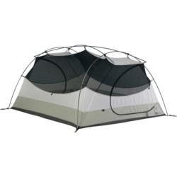 Sierra Designs Zia 3 Tent with Footprint and Gear Loft - 3-Person, 3-Season